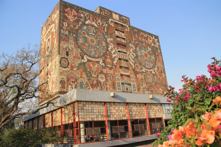 UNAM Central Library (mosaic)