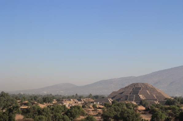 From Pyramid of the Sun
