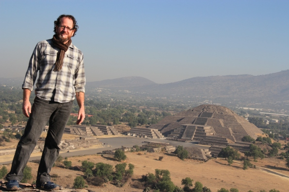 From atop the Pyramid of the Sun