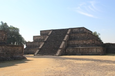 Smaller pyramid along Avenue of the Dead