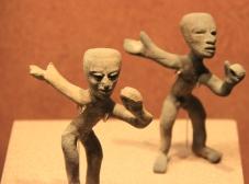 Teotithuacán clay toys