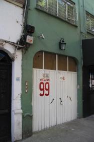 My front door, Avenida Yucatan 99