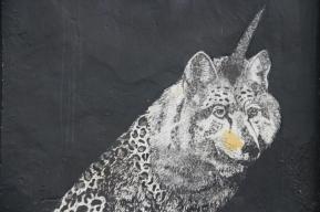 Husky Leopard Unicorn - my new spirit animal