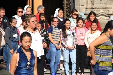 Pilgrims to Basilica
