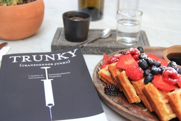 Trunky by my friend, Sam Peterson. An important read.