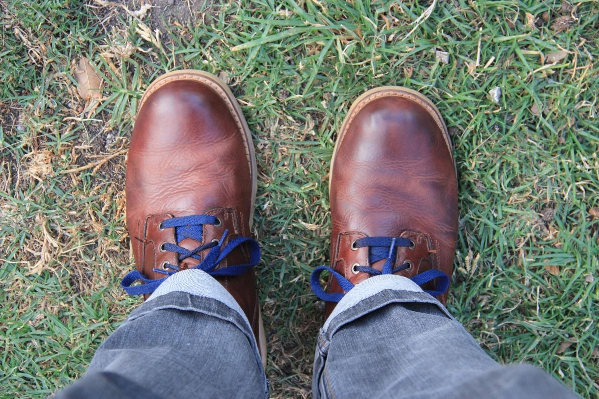 Shoe shine on Av. Insurgentes