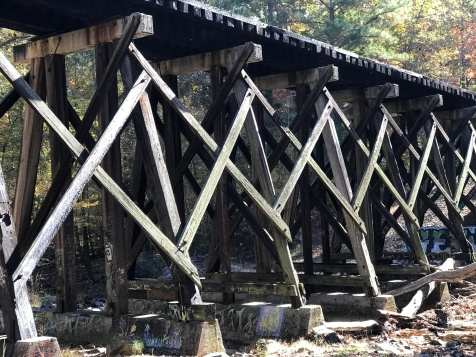 Bolin Creek trestle